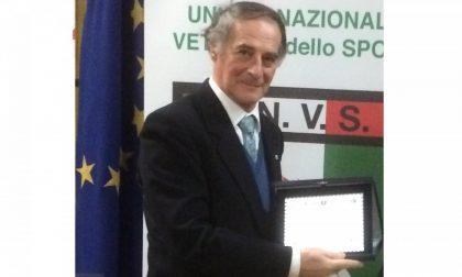 Luigi Fanchini è il nuovo presidente Unione Veterani dello Sport Arona
