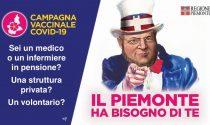 Cavour si trasforma nello zio Sam per il reclutamento di volontari piemontesi per il vaccino