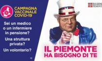 Piemonte al via la vaccinazione degli over 70. Ma servono volontari e Cavour diventa lo zio Sam