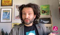 Lo scrittore novarese Alessandro Barbaglia tra i volti noti che sostengono la campagna vaccinale