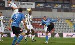 Il Novara calcio beffato nel recupero