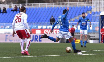 Per il Novara calcio tre punti d'oro con il Piacenza