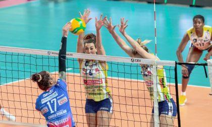 Igor Volley a picco in Champions con Conegliano