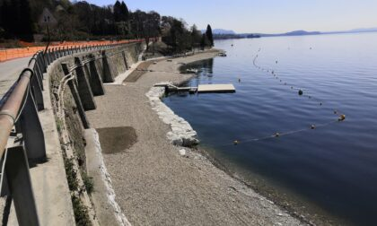 Verbania: lavori in corso sulle spiagge e sul nuovo parcheggio di Trobaso