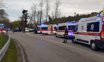 Incidente a Oleggio: quattro feriti