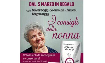 """""""I consigli della nonna"""" in edicola OGGI con i nostri settimanali"""