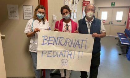 I pediatri tornano all'ospedale di Angera