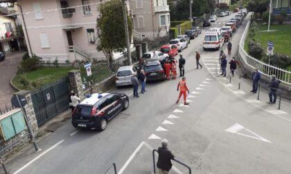 Arona incidente record: centra 7 auto e un'ambulanza