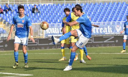 Per il Novara calcio solo un punto nell'uovo di Pasqua
