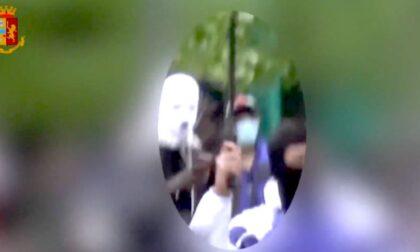 Rissa durante video musicale: denunciato il rapper novarese Zefe, brandiva un machete