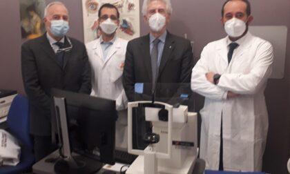Donazione della Fondazione Bpn all'Oftalmologia del Maggiore