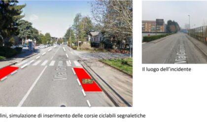 """Ragazzino investito a Novara, Fiab: """"Mettere in sicurezza via Gibellini"""""""