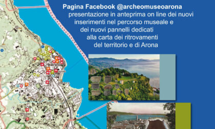 Nuovi reperti dell'antica Arona all'Archeomuseo