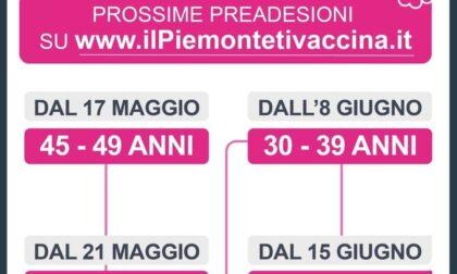 Vaccini da oggi le pre adesioni per i 40enni piemontesi