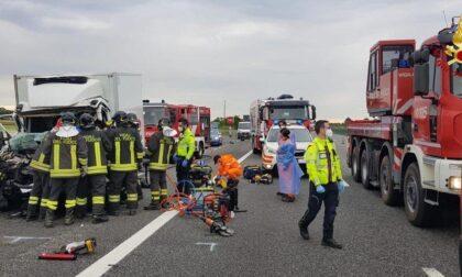 Incidente in autostrada uscita Novara Est: grave un 46enne