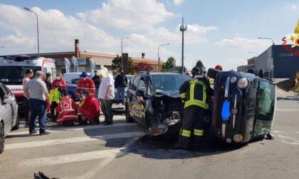 Incidente a Novara: due le auto coinvolte