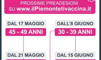 Vaccinazioni Covid: preadesioni over 40 anticipate a lunedì 17