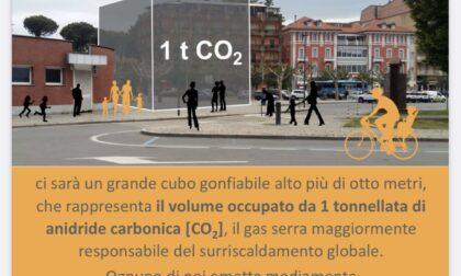 Ad Arona dal 9 al 13 giugno un gigantesco cubo che rappresenta 1 tonnellata di CO2