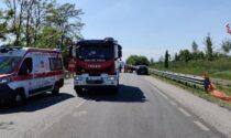 Incidente a Trecate: muore motociclista