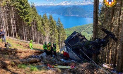 Funivia del Mottarone: la cabina sarà rimossa con un elicottero