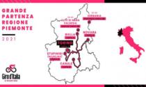 Giro d'Italia numero 104, le tappe piemontesi della corsa