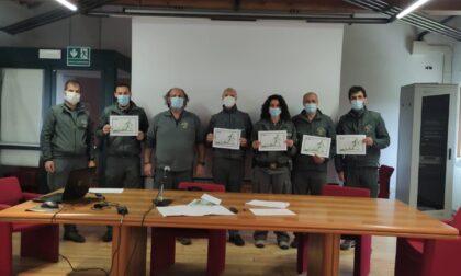 Terminato il corso di formazione cinofila per la polizia provinciale