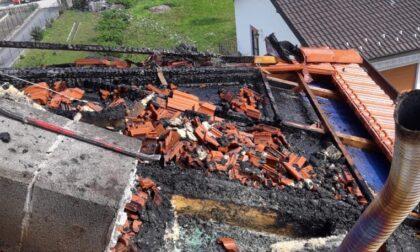Incendio tetto a Legro di Orta: danni limitati grazie a un passante sconosciuto