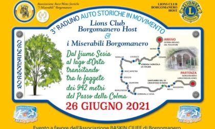 Oggi a Borgomanero si raduneranno per beneficenza le auto storiche
