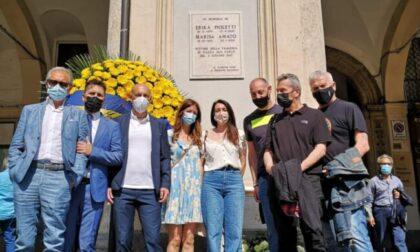 Una targa in Piazza San Carlo per ricordare Erika Pioletti e Marisa Amato