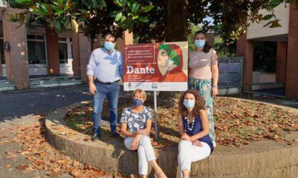 Svelato a Castelletto il secondo pannello dedicato a Dante