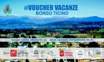 Voucher vacanze per promuovere il turismo a Borgo Ticino