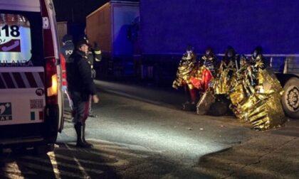 Trovati due migranti sudanesi nascosti in un tir proveniente dalla Francia