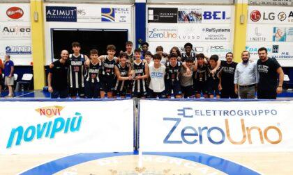 Il College Basketball di Borgomanero sbaraglia gli avversari e conquista il titolo regionale
