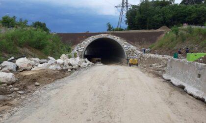 Chiusa via Lazzaretto a Borgo Ticino, ma i lavori sono quasi terminati