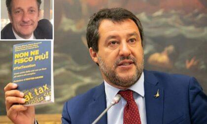 """""""Non ne fisco più"""" il libro di Gusmeroli con prefazione di Salvini"""