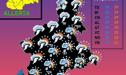 Allerta meteo oggi: possibili grandinate, nubifragi e raffiche di vento