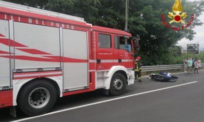 Incidente tra Gozzano e Briga: motociclisti in ospedale