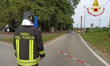 Fuga di gas ad Agrate Conturbia: area isolata