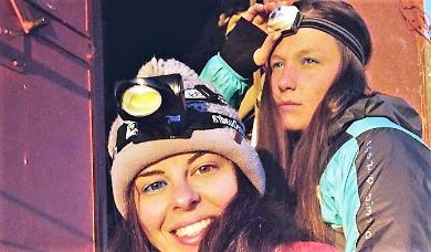 Raccolta fondi ricordando le due ragazze morte assiderate sul Monte Rosa