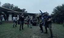 Gottard Park di Castelletto diventa il set per il video dei Black Project