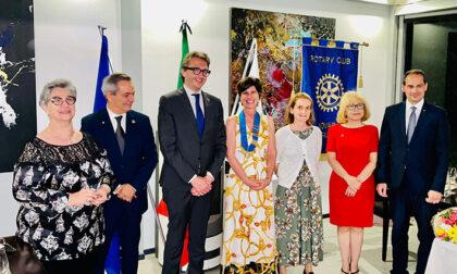 Rotary Club Novara San Gaudenzio: nuova presidente Svetlana Momo