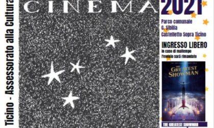 Questa sera a Castelletto parte il cinema sotto le stelle