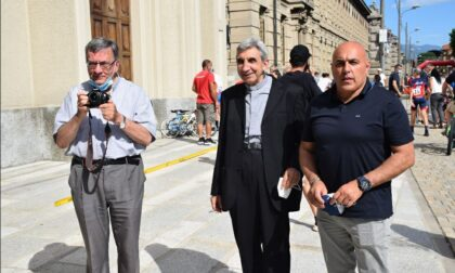 Per il 50° anniversario di sacerdozio, don Gino Bolchini è tornato nella sua Borgomanero