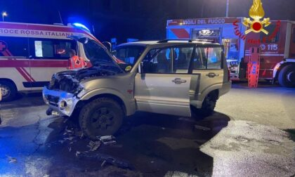 Violento incidente tra viale Roma e corso XXIII Marzo a Novara