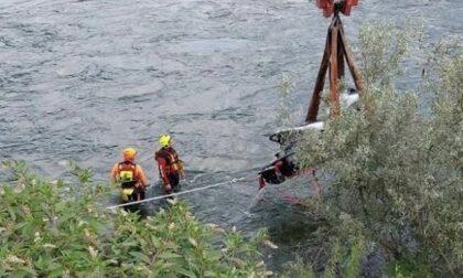 Castelletto moto d'acqua alla deriva recuperata dai vigili del fuoco