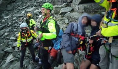 Dodici scout dispersi in montagna: salvati dal Soccorso alpino