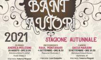 Bant autori torna con la seconda edizione della rassegna