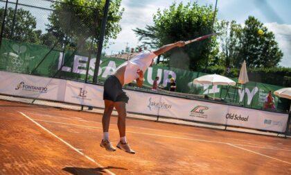 Il tennista Matteo Martineau ha vinto la Lesa Cup