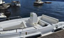 Barca elettrica consegnata al Comune di Verbania