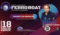 Roberto Ferrari di Radio Deejay salirà sulla motonave Verbania, a Stresa